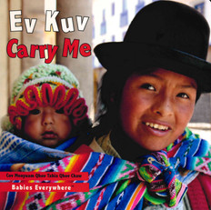 Carry Me (Hmong/English) (Board Book)