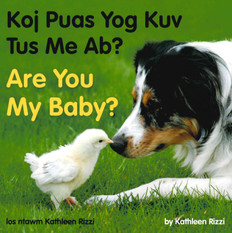 Are You my Baby? (Hmong/English) (Board Book)