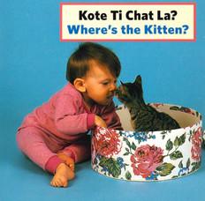 Where's the Kitten? (Haitian Creole) (Board Book)
