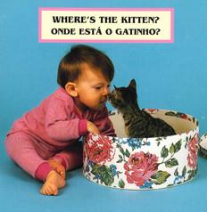 Where's the Kitten? (Portuguese/English) (Board Book)