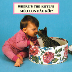 Where's the Kitten? (Vietnamese/English) (Board Book)