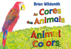 Animal Colors (Portuguese/English) (Board Book)