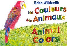 Animal Colors (Canadian French/English) (Board Book)
