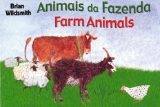 Farm Animals (Portuguese/English) (Board Book)