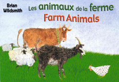 Farm Animals (Canadian French/English) (Board Book)