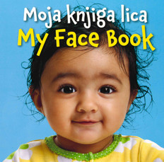 My Face Book (Bosnian/English) (Board Book)