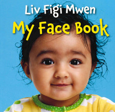 My Face Book-Haitian Creole/English (Board Book)