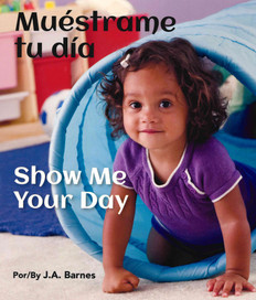 Show Me Your Day (Spanish/English) (Board Book)