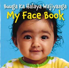 My Face Book-Somali/English (Board Book)