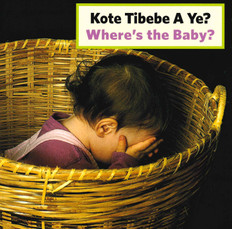 Where's The Baby? (Haitian Creole/English) (Board Book)