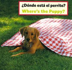 Where's the Puppy? (Spanish/English) (Board Book)