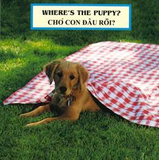 Where's the Puppy? (Vietnamese/English) (Board Book)