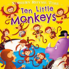 Ten Little Monkeys (Board Book)