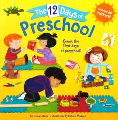 The 12 Days of Preschool (Paperback)