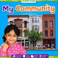 My Community: STEAM (Board Book)