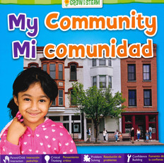 My Community (Spanish/English) (Board Book)