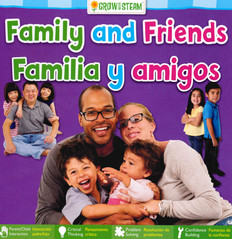 Family and Friends (Spanish/English) (Board Book)