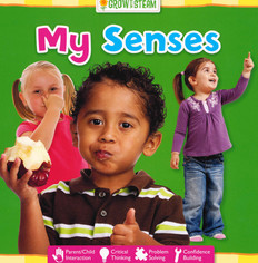 My Senses: STEAM (Board Book)