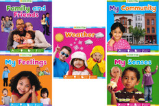 Grow with STEAM Set of 5 (Board Book)