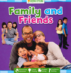 CASE OF 72- Family and Friends (Board Book)