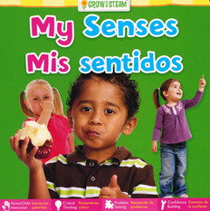 CASE OF 72- My Senses(Spanish/English) (Board Book)