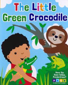 The Little Green Crocodile (Board Book)