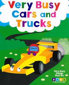 Very Busy Cars and Trucks (Board Book)
