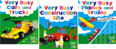 Very Busy Things That Go Set of 3 (Board Book)