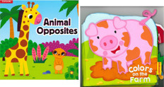 Colors on the Farm/Animal Opposites (Deluxe Play & Learn 2-Pack)