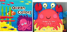 Under the Sea 1,2,3/Ocean Colors (Deluxe Play & Learn 2-Pack)