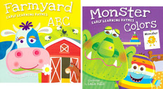 ABC's and Colors Set of 2 (Board Book)