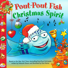 Pout-Pout Fish Christmas Spirit (Paperback)