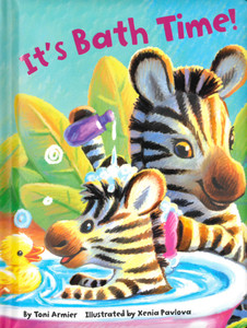 It's Bath Time (Padded Board Book)