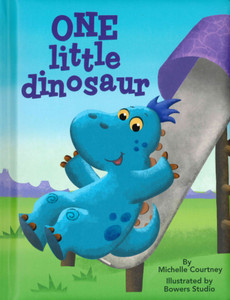 One Little Dinosaur (Padded Board Book)