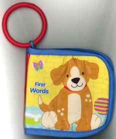 First Words: Animal Friends (Stroller Cloth Book)