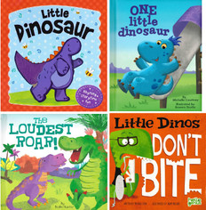 Little Dinosaur Set of 4