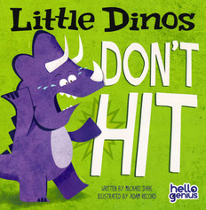 CASE OF 120 - Little Dinos Don't Hit (Paperback)
