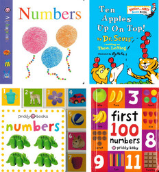 The Math Pack for Toddlers! Set of 4 (Board Book)