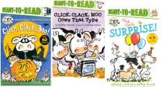Click, Clack! Level 2 Set of 3 (Paperback)