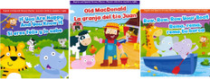 BBB Nursery Rhyme Set of 3 (Spanish/English) (Board Book)