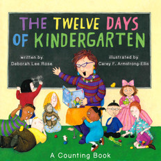 The 12 Days of Kindergarten (Paperback)