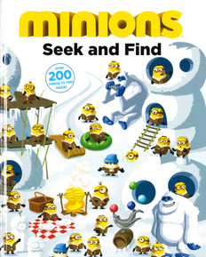 Minions: Seek and Find (Hardcover)