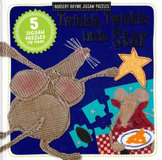 Twinkle, Twinkle, Little Star Nursery Rhyme Jigsaw Puzzles (Board Book)