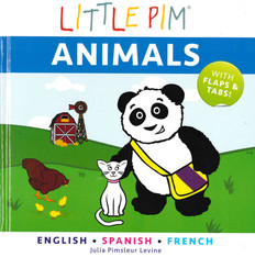 Animals Lift-a-Flap: Trilingual (Board Book)