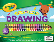 Color Workshop Drawing By Crayola