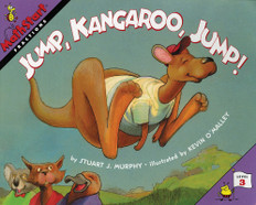 Jump, Kangaroo, Jump! (Fractions) Mathstart Level 3 (Paperback)