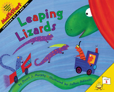 Leaping Lizards (Counting by 5's and 10's): MathStart Level 1 (Paperback)
