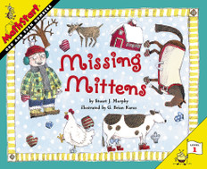 Missing Mittens (Odd and Even Numbers): MathStart Level 1 (Paperback)