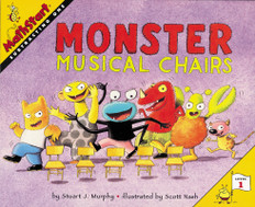 Monster Musical Chairs (Subtraction): MathStart Level 1 (Paperback)