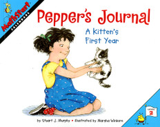Pepper's Journal (Calendars): MathStart Level 2 (Paperback)